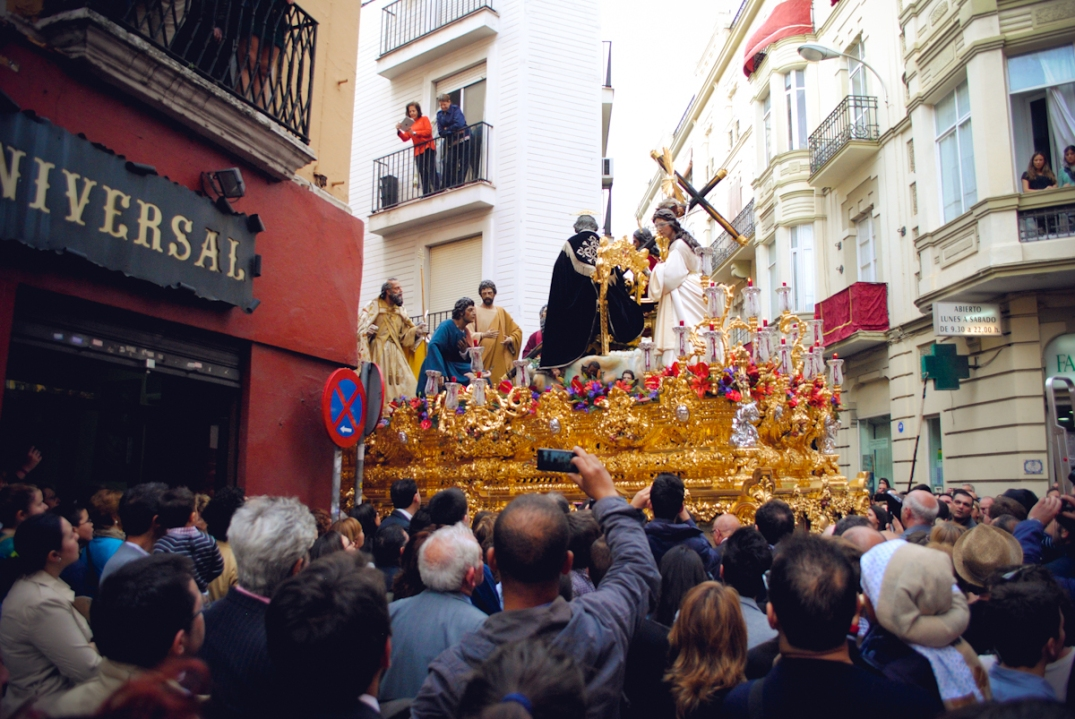 a paso, the main attraction of a procesión