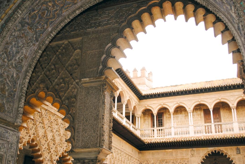 Inside Alcázar de Sevilla