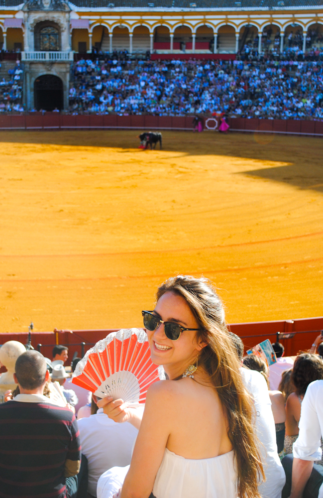 Excited to experience my first bullfight in Sevilla