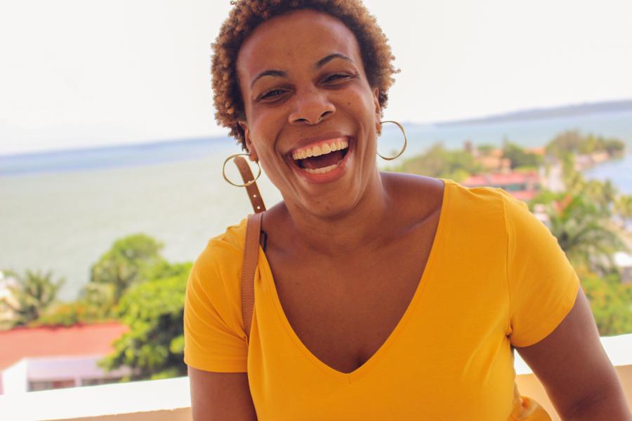 Taneika's joy is contagious!!
