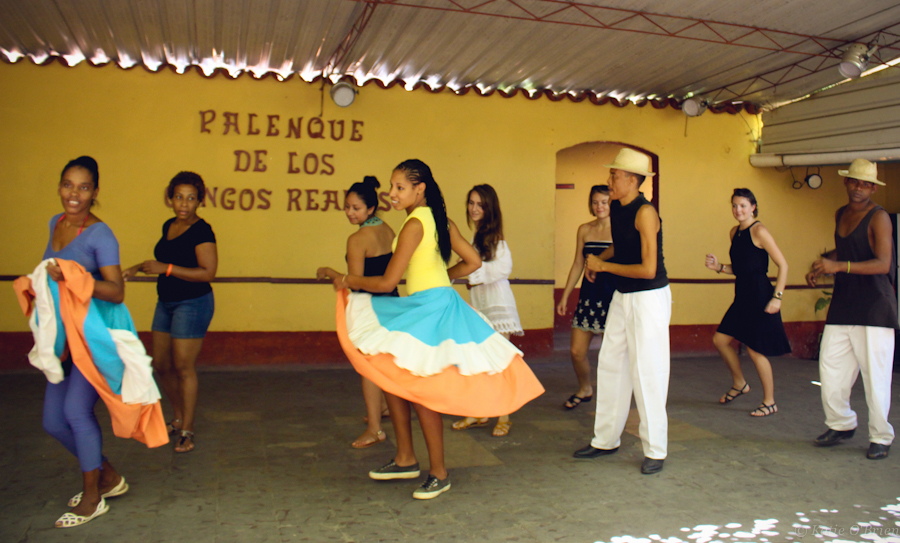 Learning Afro-Cuban dances after watching a fun performance