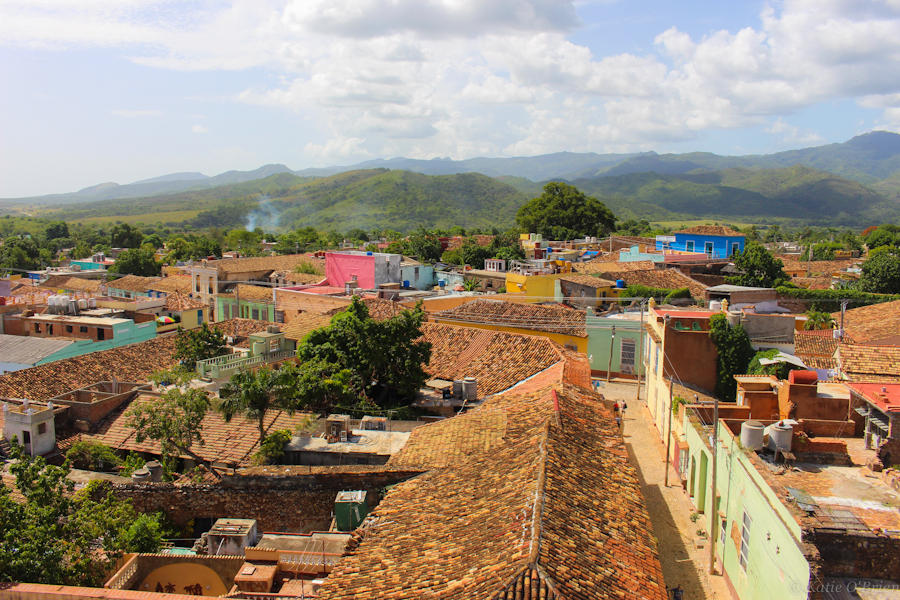 The colonial city of Trinidad