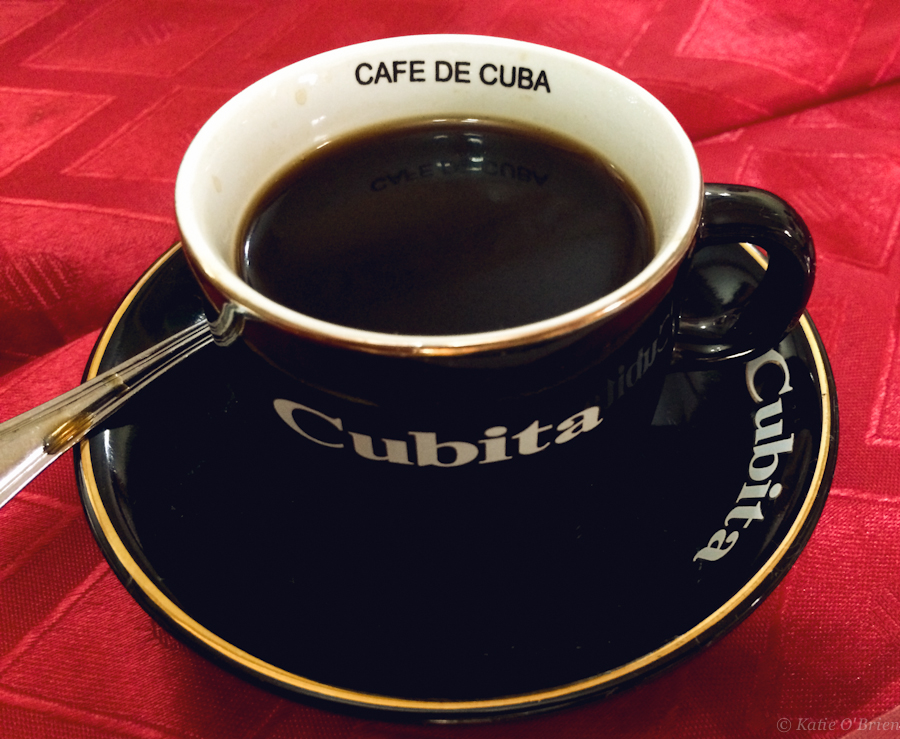 Strong Cuban coffee is delicious for coffee  addicts like myself